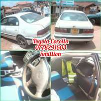 Corolla manual in good condition