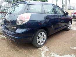 Foreign used Toyota matrix 2006 model