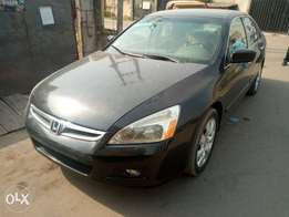 Clean 2007 Tokunbo Honda Accord