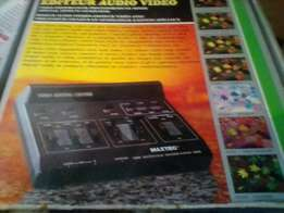Video and audio mixing boards
