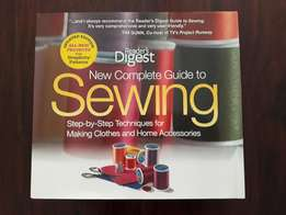 New Complete Guide to Sewing Book - Reader's Digest