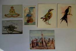 Cigarette Card Collection (50 cards)