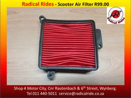 Quality Scooter Air Filters