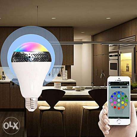 Muti-function: a light bulb for illuminting, a bluetooth speaker music