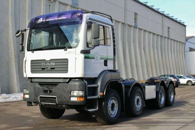 MAN Tga35.430 8x4 Euro4 Uell Retarder Pto - 2005