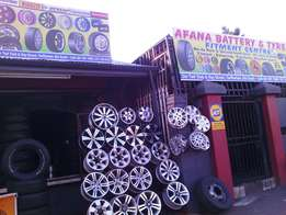 Call for any size of your tyres & rims on special for sale start R350