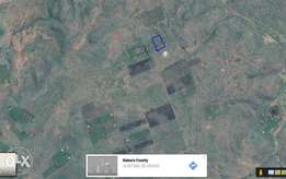 Land for sale in gilgil near thome shopping centre.