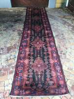 Genuine wool hand knotted persian runner 5140m