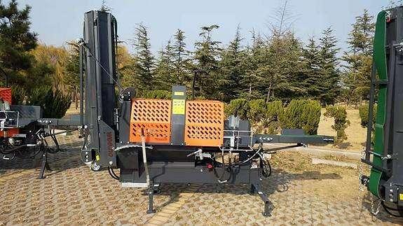 Vedmaskin Med Mating Og Transportband Pto - 2019