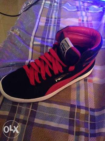 Black and red puma Lekki - image 1