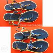 female denim sandal ( sizes 39,40)