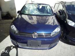 Volkswagen golf TSI metallic blue KCN new import