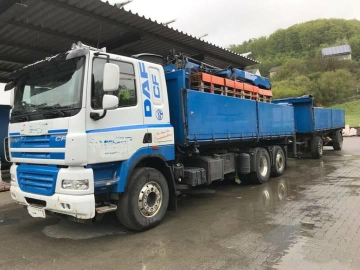 DAF CF 510 6x2 Baustoff Kran - 2011