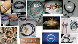 Customized Bracelets,Necklaces & other Jewelries