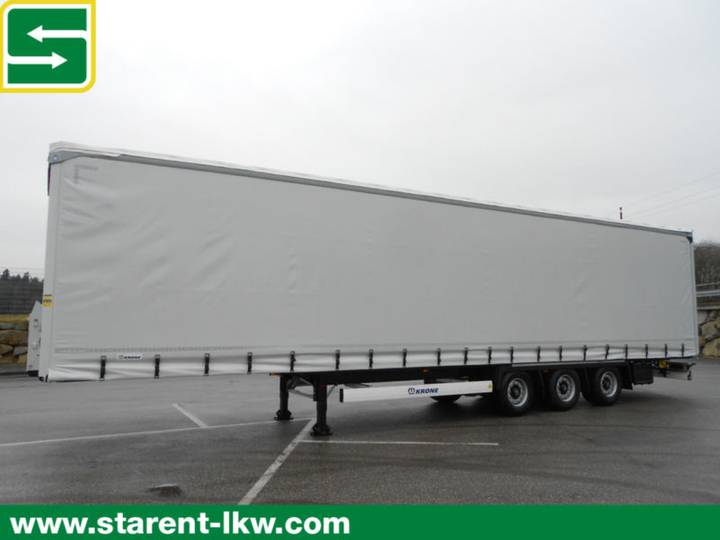 Krone Megatrailer, Hubdach, BPW, Liftachse,XL-Zert.NEU - 2018