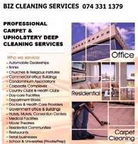 We offer fast, efficient and professional cleaning services in Sandton
