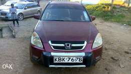 Excellent Honda Crv on quick sale