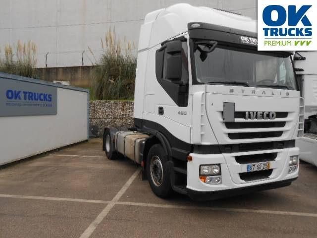 Iveco Stralis AS440S46TPE Euro5 Intarder Luftfeder - 2012