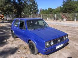 1991 VW Golf 1.3 - deco blue
