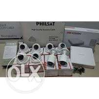 8 channel AHD CCTV cameras Complete kit+Installation