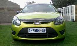 Ford figo 1.4 green 2012 hatchback 85000km in good condition R580000.