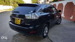 Toyota harrier with triple sunroof and leather seats moroe shocks mint