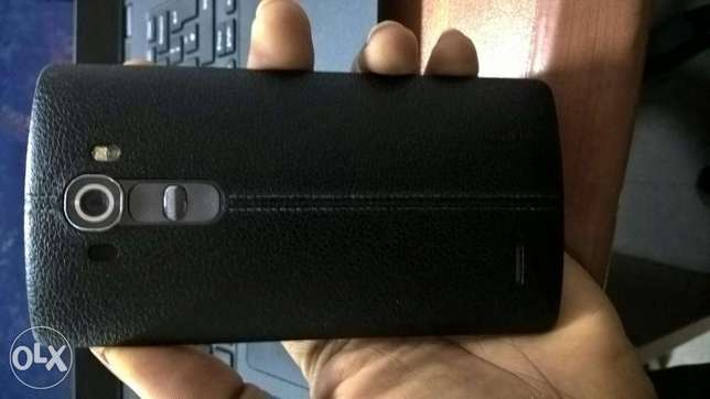 Neat LG G4 black leather back Alimosho - image 4