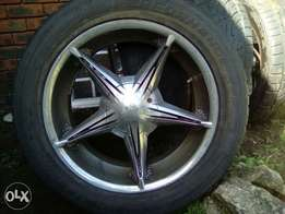 20 inch tyres and Rims for sale