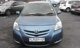 Toyota Yaris T3 Colour Blue Model 2009 5 Doors Factory A/C & CD Player