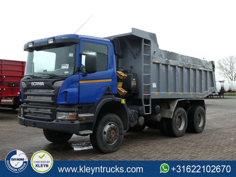 Scania P380 6x6 full steel 16m3 - 2008