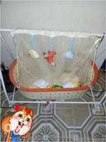 new rocking baby cot