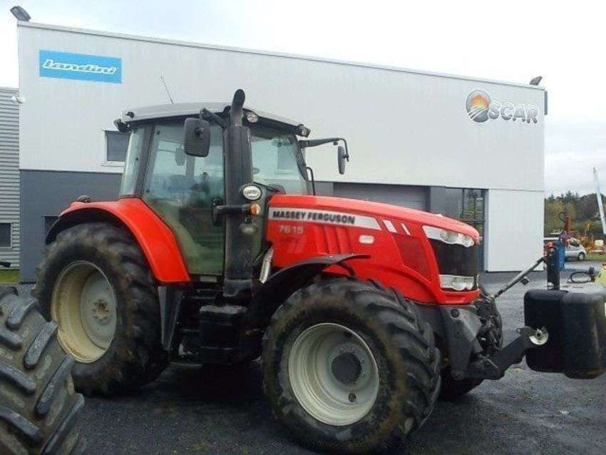 Massey Ferguson 7616 Dyna 6 Efficient - 2015