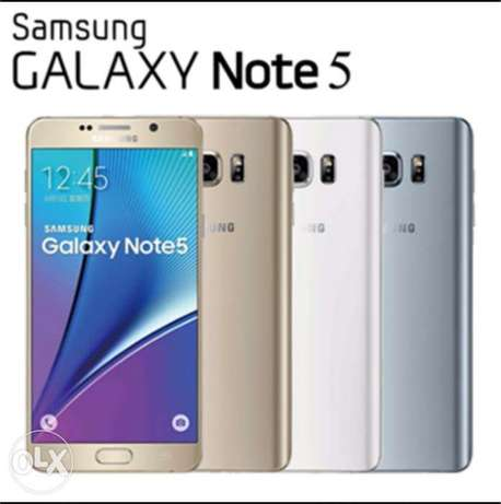 Brandnew sealed NOTE5 SAMSUNG FREE 3D glass offer Nairobi CBD - image 1
