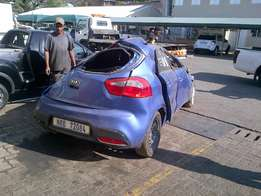 Kia rio stripped for spares