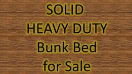 SOLID Heavy duty bunk bed for sale