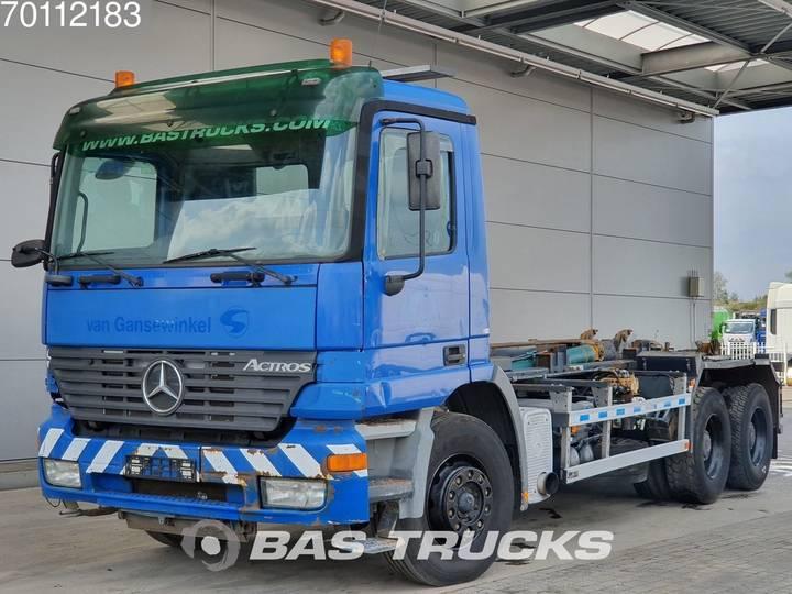 Mercedes-Benz Actros 2640 K 6X4 Hydraulik Steelsuspension Euro 3 - 2002