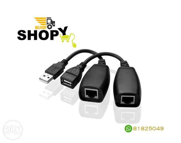 USB Extender Through Cat5/6 Cable
