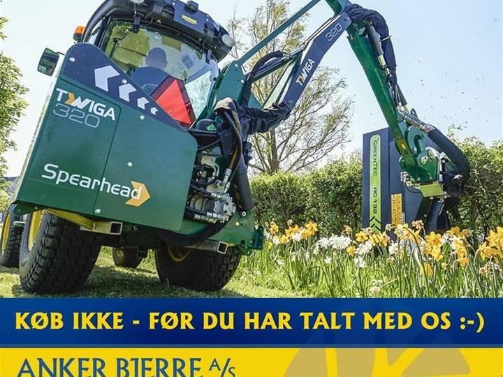 Spearhead TWIGA COMPACT 320 - OGSÅ DEMOMODELLER MED REDSKABER!