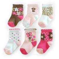 Baby socks baby stockings baby clothes set of 6
