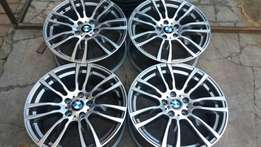 Original 19inch bmw mag rims available in stock