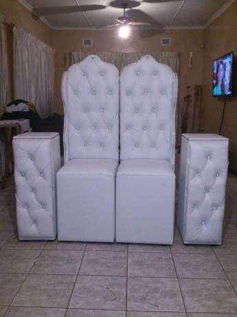 4 king and Queen chairs package Rossburgh - image 5