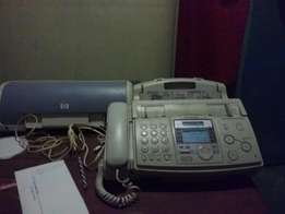 Panasonic telephone answering system fax and copyer