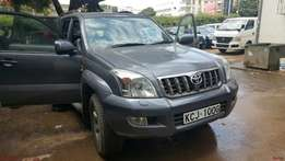 Freshly imported Toyota Prado diesel LC5 available for sale