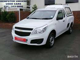 immaculate!! 2015 Chevrolet Utility 1.4 Club with aircon and canopy