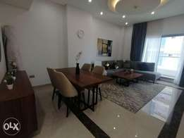 Higher Floor Sea View 1 BR FF Apartment in Juffair For Rent