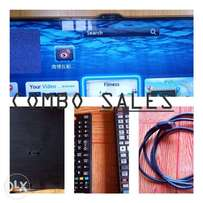 Combo sales (Samsung Smart 3D Camera TV and Smart Blu-ray 3D DVD
