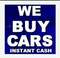 Sell us your car today, R10,000 to R25,000 cash