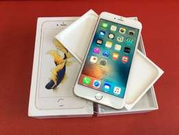 Apple iPhone 6s plus.64gig perfect condition comes with box