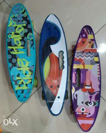 Skateboard new asleye