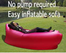 Inflatable Sleeper and Sofa (No pump needed)